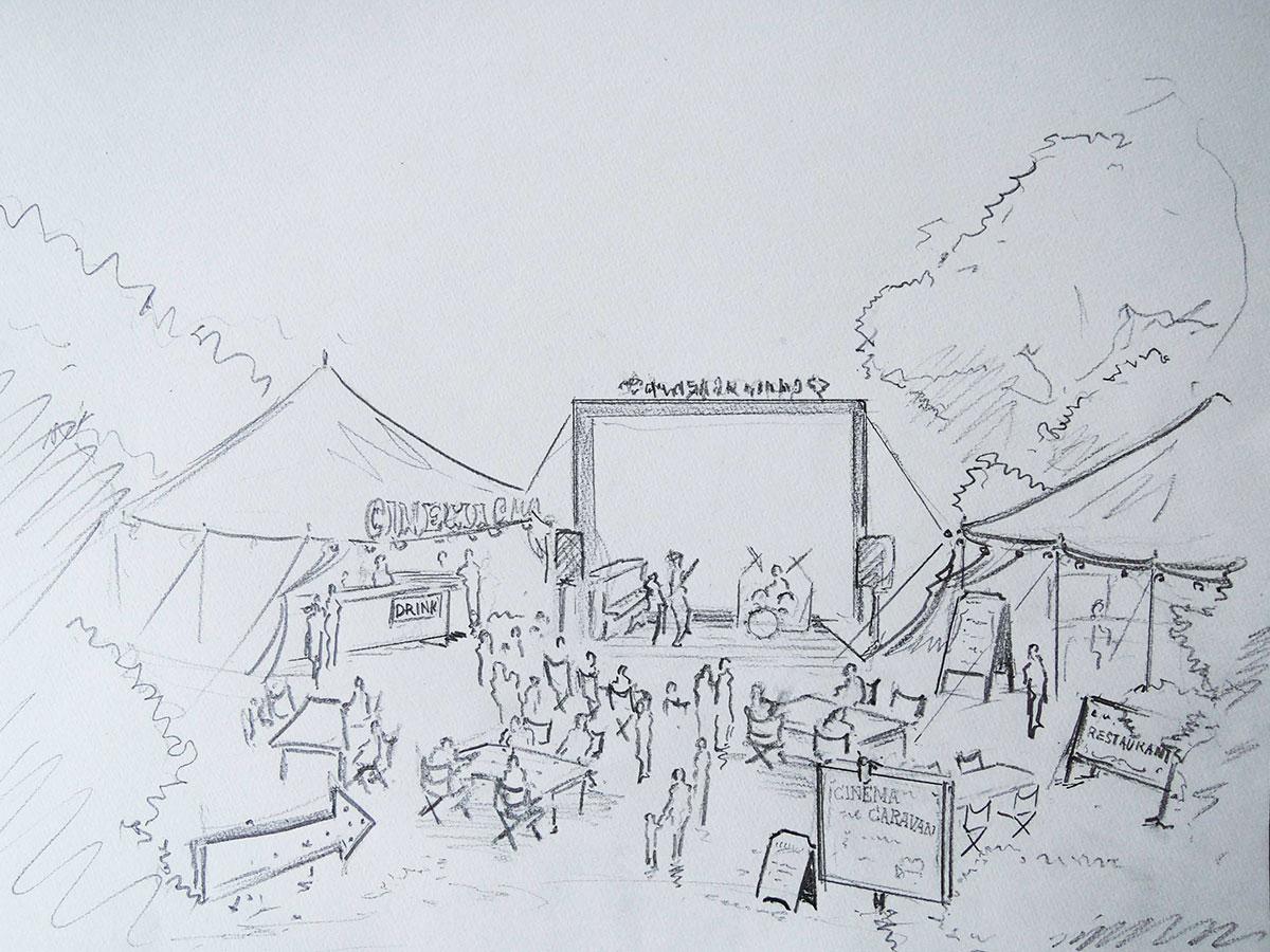 CINEMA CARAVAN in ICHIHARA ART x MIX
